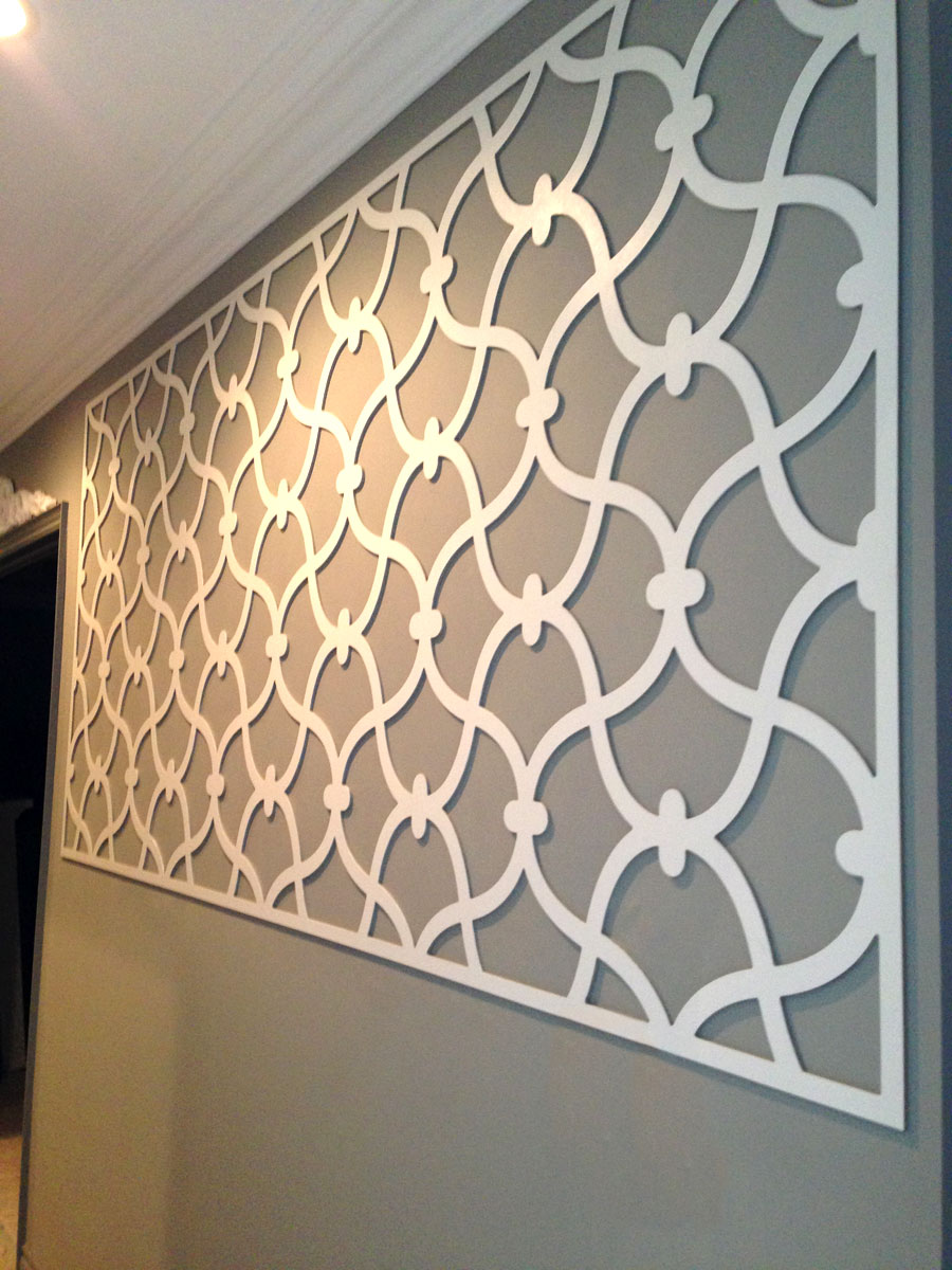 Decorative Wall Panel Gallery : Omega feature mould inspiration gallery custom