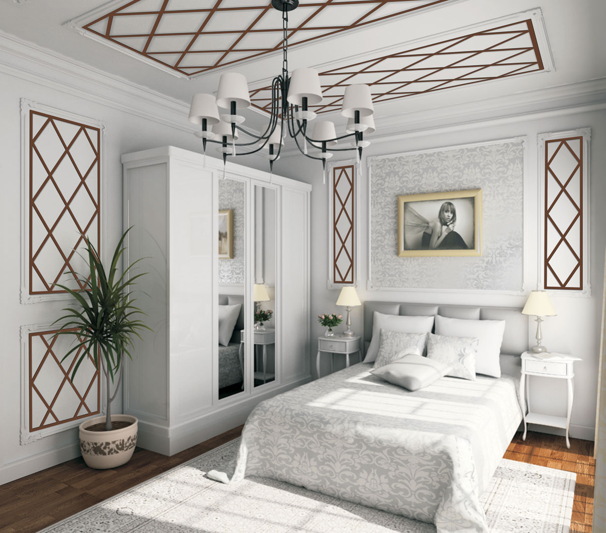Round Bedroom Ceiling Bedroom Feature Wall Paint Ideas Bedroom Decorating Ideas Teenage Guys Lcd Cabinet Designs Bedroom: Omega Feature Mould Inspiration Gallery